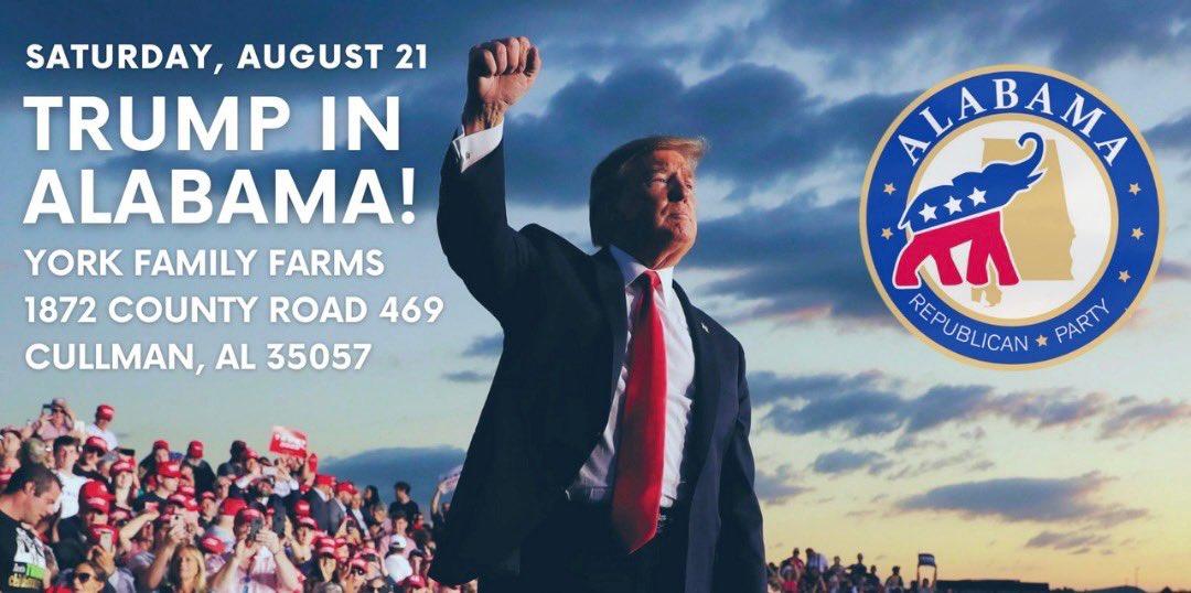 Donald J. Trump Rally in Cullman, AL